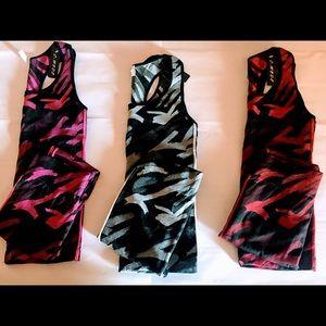 🔥Red/black workout loungewear set